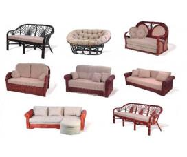 Кресла, диваны из ротанга